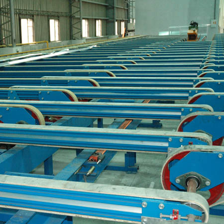 Aluminum Fabrication Equipment - Belt Type